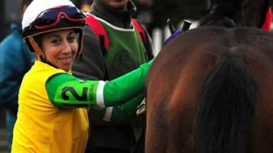 Murió María Paganelli, la jocketa que fue aplastada por su caballo