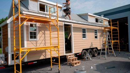Por unos 50.000 dólares se puede acceder a una casa nueva de un poco menos de 20 m2