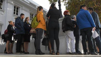 Muchos mendocinos se presentaron para una oferta de trabajo de una aerolínea hace menos de un mes