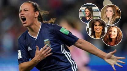 Argentina remontó un 0-3 frente a Escocia.