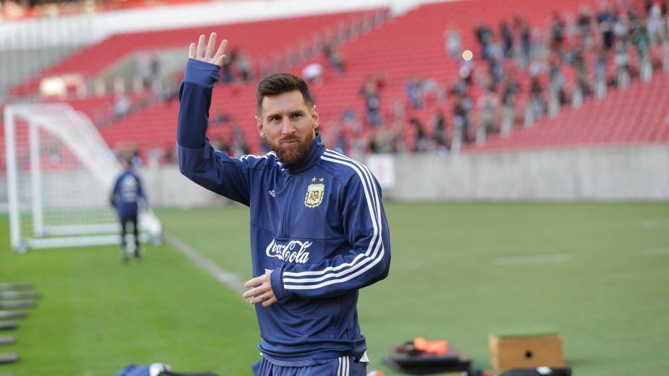 Messi, con apoyo familiar antes de su cumpleaños en la Copa América