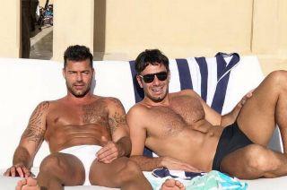 Ricky Martin y esposo