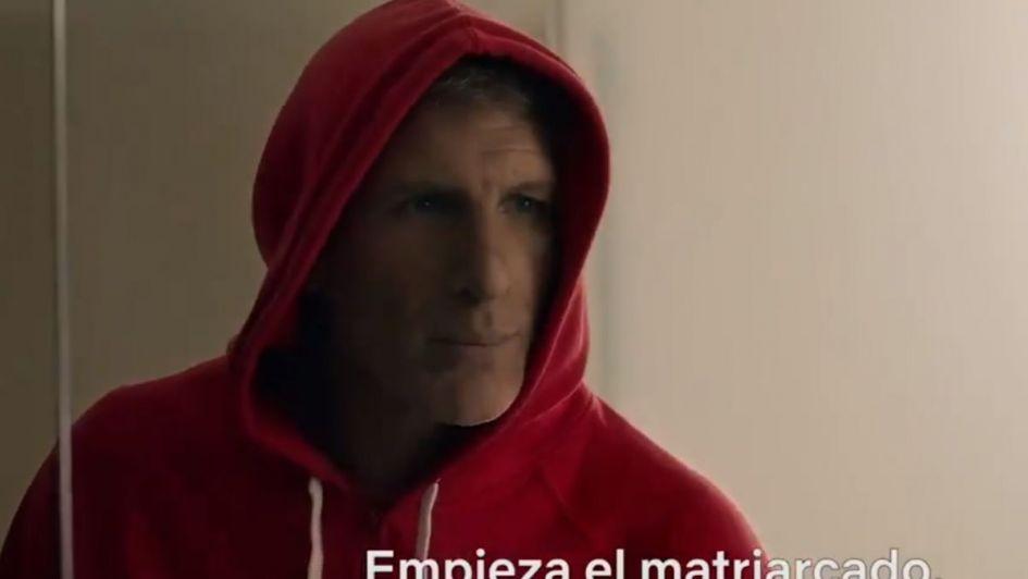 La actuación de Martín Palermo en La Casa de Papel 3